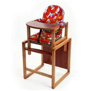 Купить 12357981, ВИЛТ Стул-стол для кормления Малыш красный [СТД0305], Стульчики для кормления малышей
