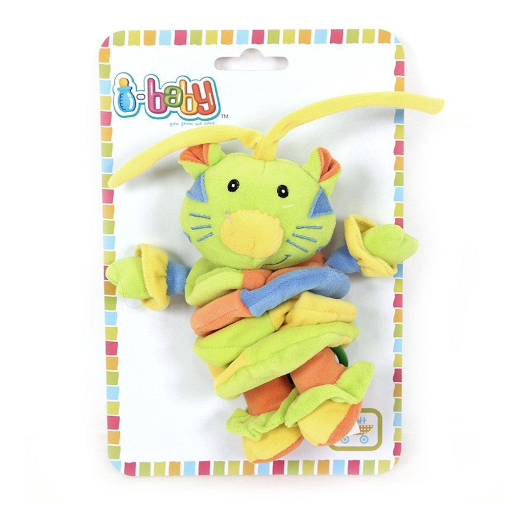 Купить I-BABY Развивающая игрушка подвязка музыкальная ДРУЖОК ИЗ ДЖУНГЛЕЙ 37 см [B-10088], Китай, Развивающие игрушки для малышей