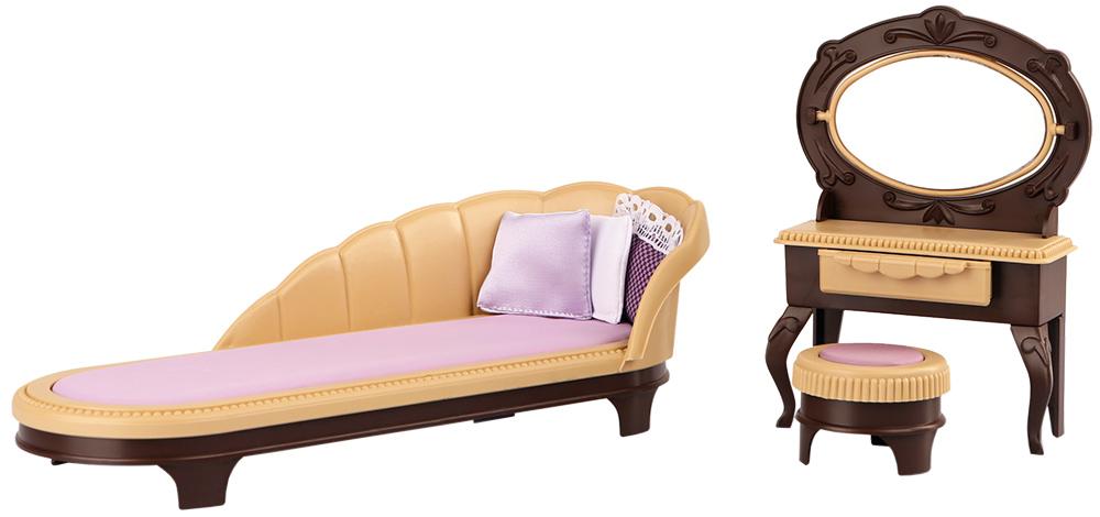 Купить С-1369 коричневый, ОГОНЁК Будуар Коллекция (С-1369), Огонек, Россия, Мебель для кукол