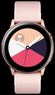 Купить Умные часы Samsung Galaxy Watch Active розовый, умные часы, Розовый, Китай