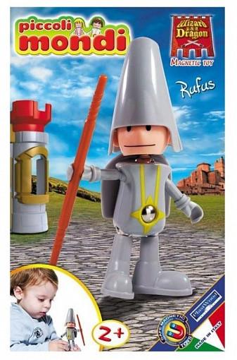 Купить PLASTWOOD Магнитный конструктор Piccoli Mondi Wizard & Dragon , цвет: Rufus [0519], пластик, Металл, Конструкторы