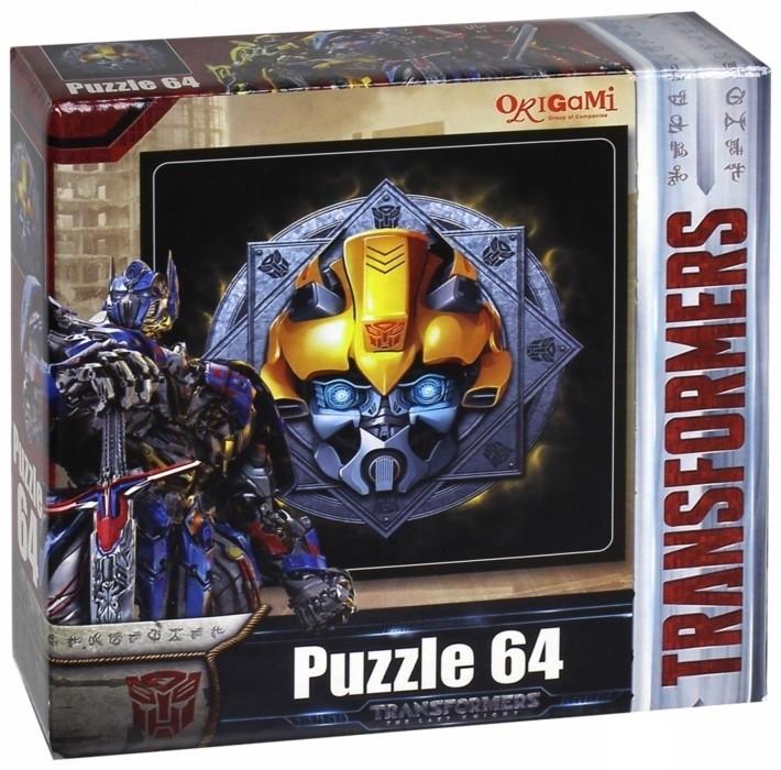 Купить ОРИГАМИ Пазл Transformers , 64 элемента [3277], Оригами, Россия, Конструкторы