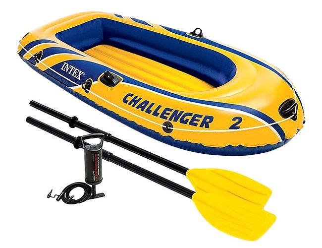 INTEX Надувная лодка Challenger-2 [68367] с68367 фото