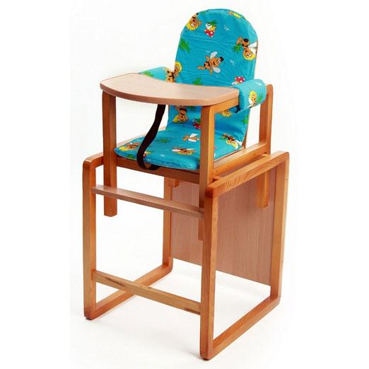 Купить 12357251, ВИЛТ Стул-стол для кормления Бутуз голубой [СТД0203], Стульчики для кормления малышей
