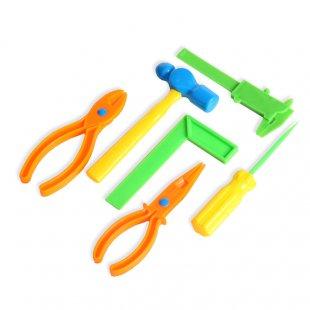 Купить НАША ИГРУШКА Игр.набор инструментов 6 предметовименте [M6153], Детские наборы инструментов