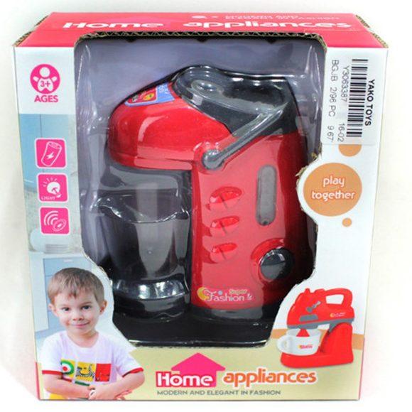 Купить НАША ИГРУШКА Термопот э/ф красный, 11 cм, батар.в компл.не вх [Y3063387], Yako, пластик, Детские кухни и бытовая техника