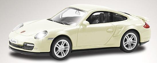 Купить RMZ Модель автомобиля Porsche 911 Turbo, масштаб 1:44 [444010], Игрушечные машинки и техника