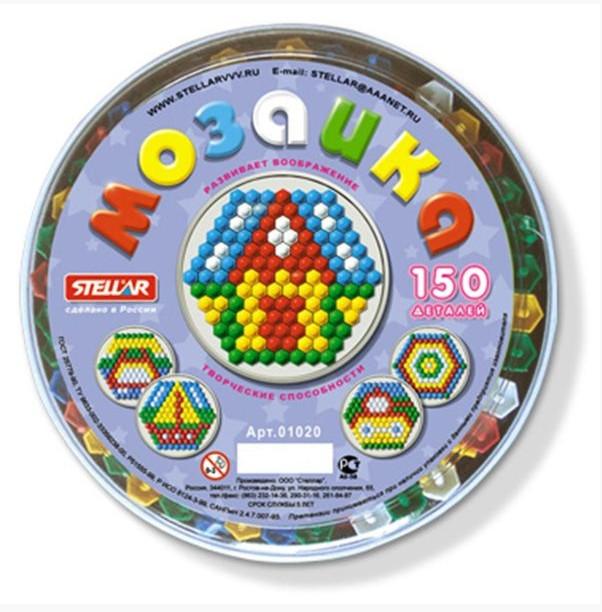 СТЕЛЛАР Мозаика, 150 элементов (диаметр 13 мм) [1012], Россия, Мозаика для детей  - купить со скидкой