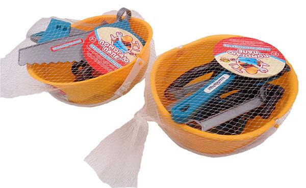Купить ABTOYS Набор инструментов в каске [PT-00550], пластмасса, Детские наборы инструментов