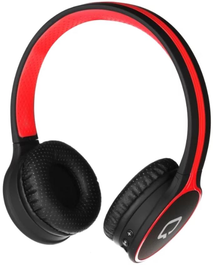 Купить Гарнитура QUMO Accord 3 BT-0020 Черно-красная, Черный, Китай