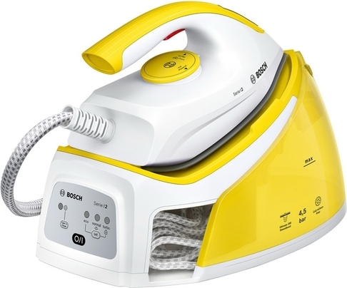 Утюг с парогенератором Bosch TDS2120 белый/жёлтый