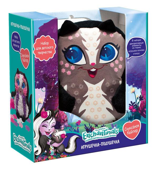 Купить ENCHANTIMALS Набор для творчества Игрушка-подушка. Скунсенок Кейпер [4007 ], Товары для изготовления кукол и игрушек