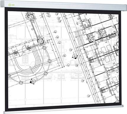 Экран Cactus 149.4x265.7см Wallscreen CS-PSW-149x265 16:9 настенно-потолочный рулонный белый фото
