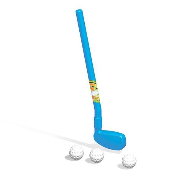 Купить DOLU Набор гольф-клюшка и три мячика [DL_6012], 50 x 20 x 5 см, пластик, Спортивные игры и игрушки для улицы