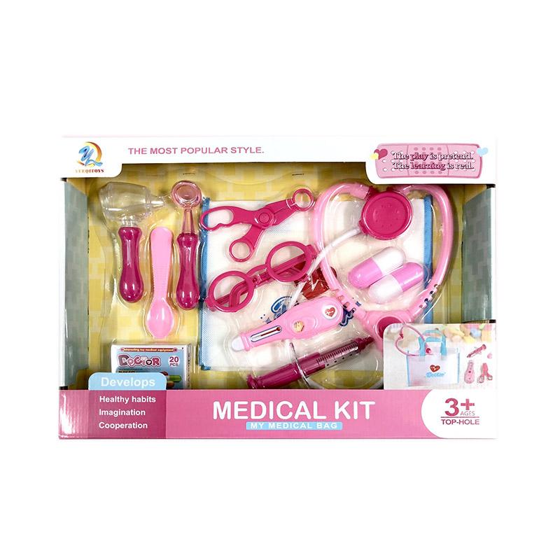 Купить PLAY SMART Игровой набор Доктор [4777-54], пластик, Играем в доктора