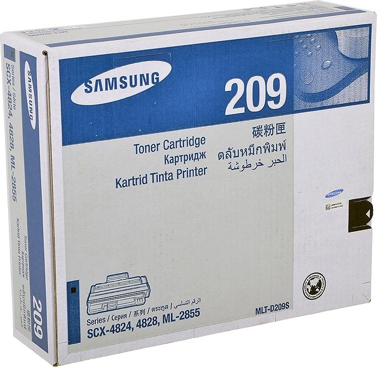 Тонер-картридж Samsung MLT-D209S Black фото