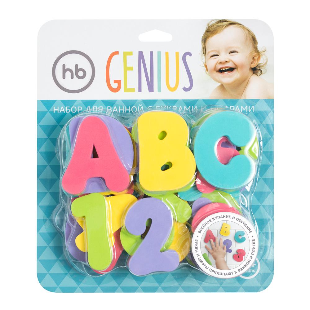 Купить Набор HAPPY BABY 32023 GENIUS, Этиленвинилацетат, Для мальчиков и девочек, Китай, Детские игрушки для ванной