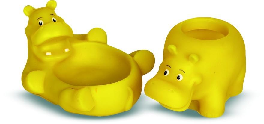 Купить Набор ВЕСНА В595 Для ванной комнаты Бегемотики, Весна, ПВХ, Для мальчиков и девочек, Россия, Детские игрушки для ванной