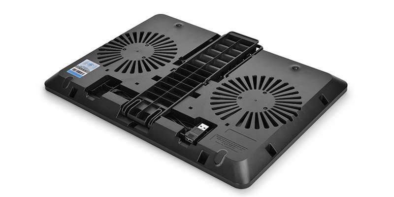 "Подставка для ноутбука Deepcool U PAL 15.6"" 390x280x28mm 26dB 1xUSB3.0 765g Black U PAL"