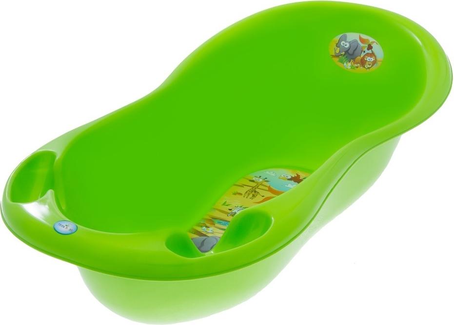Купить ТЕГА Ванна овальная 102см SAFARI (САФАРИ) зеленый [SF-005-125], Ванночки для малышей