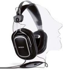Купить Гарнитура A4Tech HS-200 black, Черный, Китай