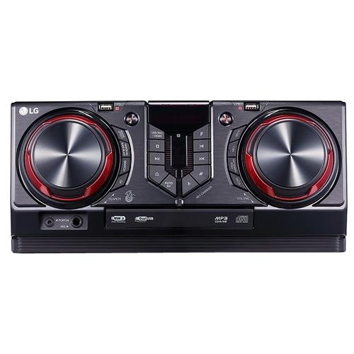 Купить Музыкальный центр LG CJ45, минисистема, Черный, Китай