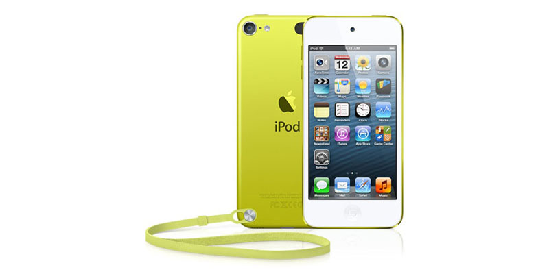 Плеер Apple iPod touch 64GB - Yellow MD715