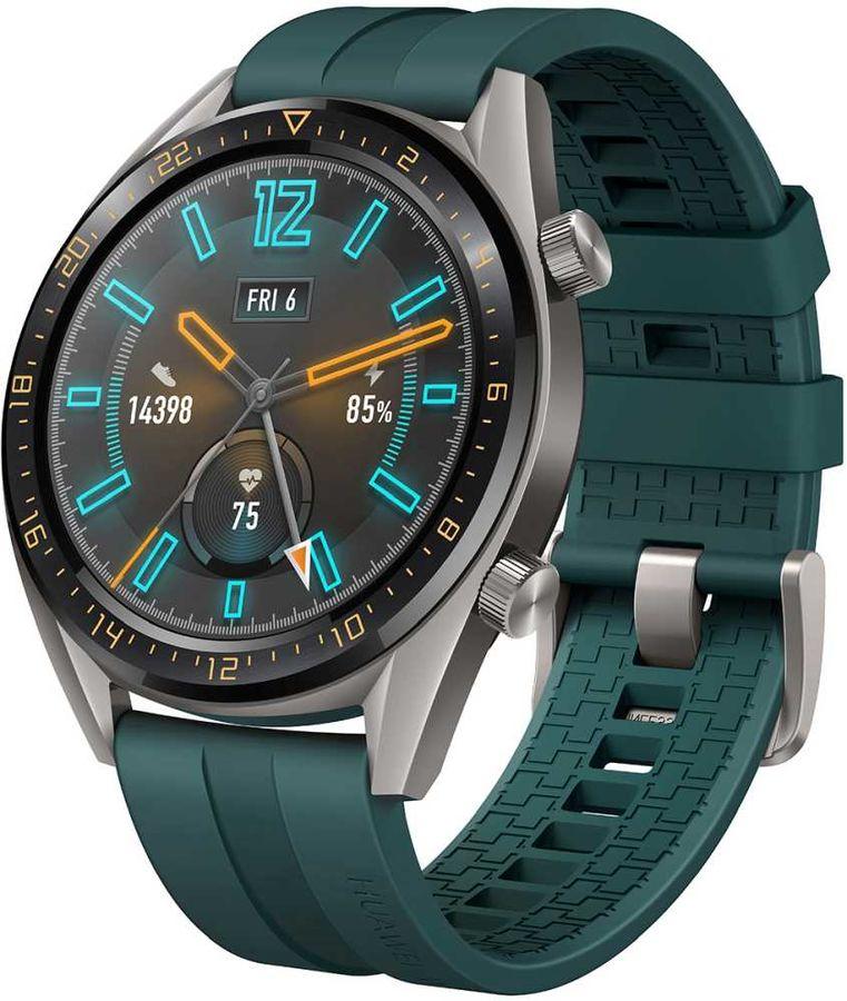 Часы Huawei Watch GT 46mm Active Dark Green