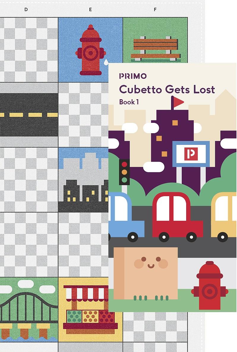 Купить Набор PRIMO TOYS 13496 Карта для путешествий Город, Бумага, полиэстер, Игрушки для развития мелкой моторики