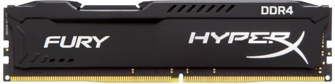 Купить Оперативная память Kingston HyperX FURY Black 16GB DDR4 2400Mhz DIMM (HX424C15FB/16), HyperX Fury DDR4, Китай