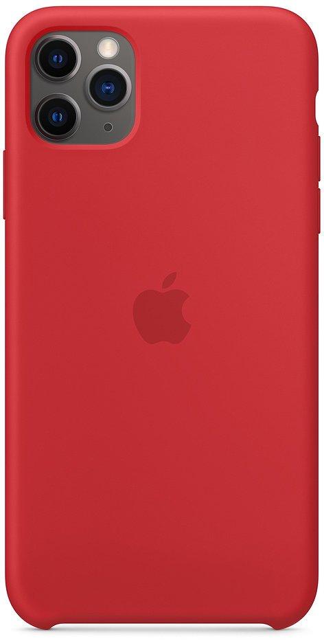 Чехол Apple для iPhone 11 Pro Max Silicone (Product) Red фото