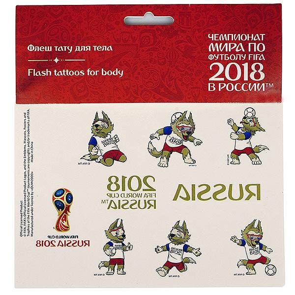 Купить FIFA 2018 Тату для тела 17*16 см 2018 FIFA [5181443], Россия, Наклейки для творчества
