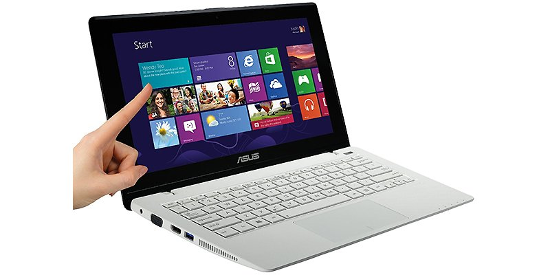 Ноутбук ASUS X200CA-CT055H White