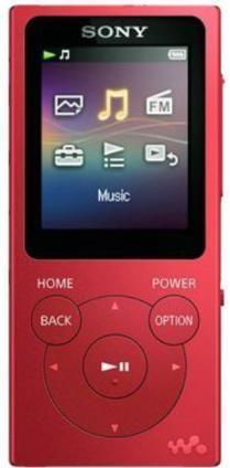 Плеер Sony NW-E394 8Gb Red