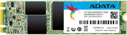 Накопитель SSD 128 Гб A-Data Ultimate SU800 (ASU800NS38-128GT-C) M.2 2280