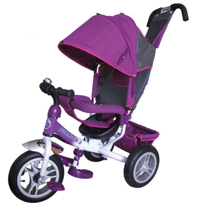 Купить Детский велосипед Formula-3 (FA3V) фиолетовый, Formula 3, Фиолетовый, металл, пластик, текстиль, Велосипеды для взрослых и детей