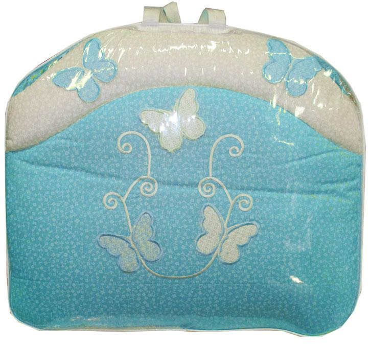 Купить 12356358, Комплект «Бабочки» 7 предметов, [7062], Постельное белье для малышей