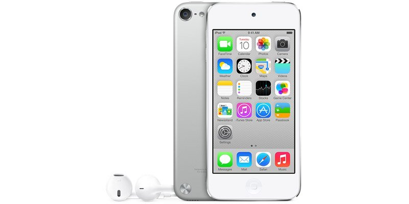 Плеер Apple iPod touch 5 32Gb White/Silver MD720RU/A