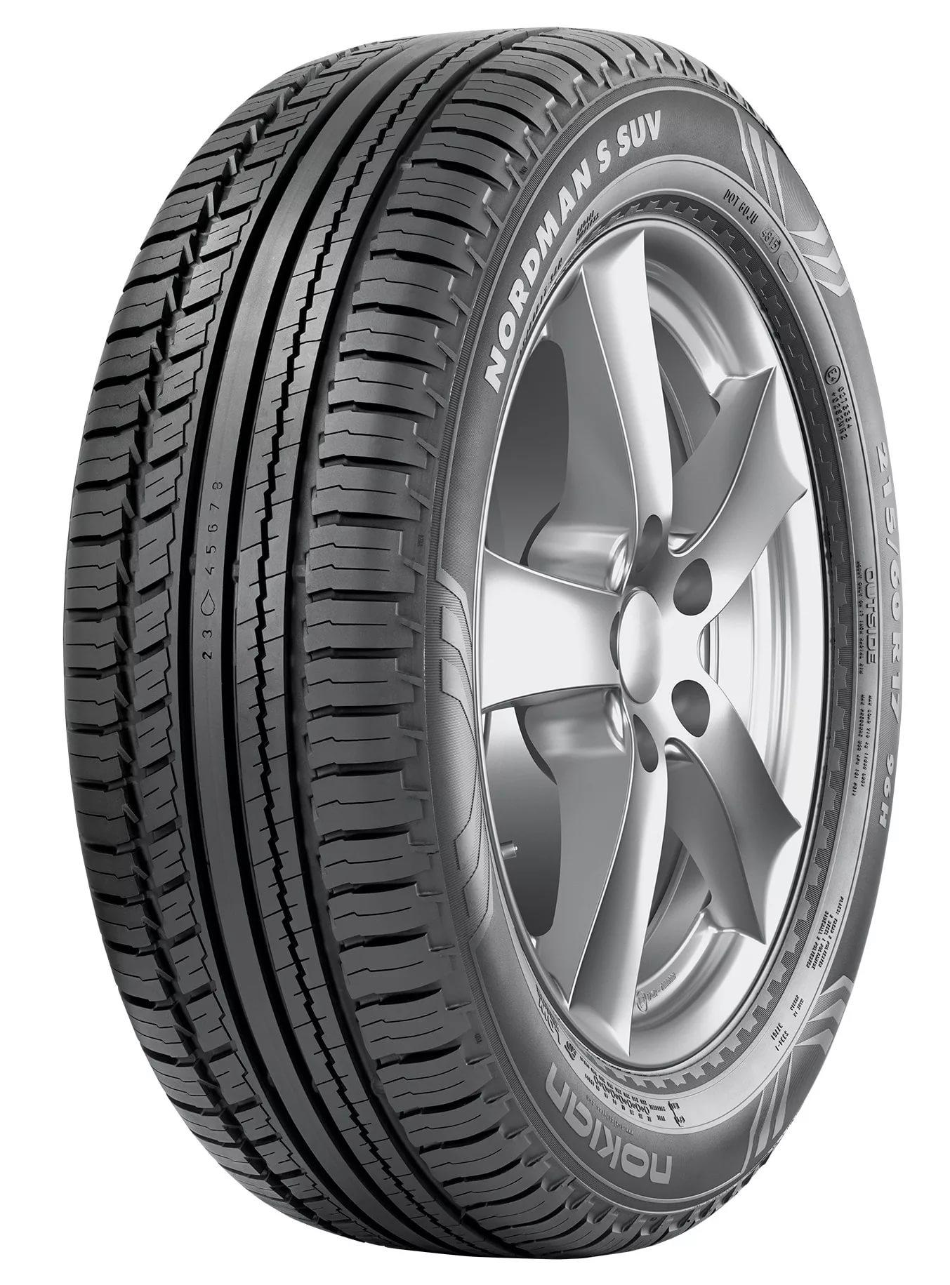 Автошина R16 215/70 Nokian Nordman S SUV 100T лето, Nokian Tyres, Лето  - купить со скидкой