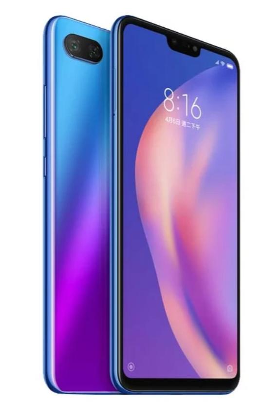 Купить Смартфон Xiaomi Mi 8 Lite 6/128Gb синий, Синий, Китай