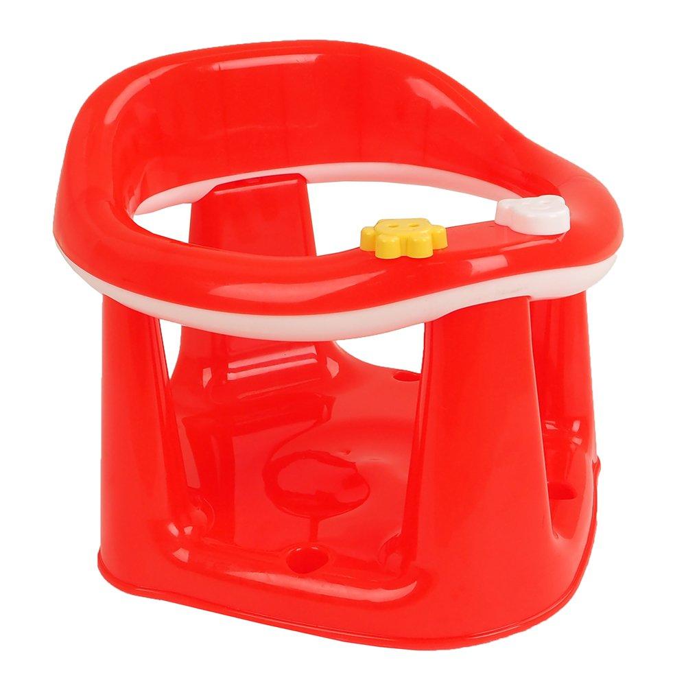 Купить 11120, DUNYA Сиденье для купания Красный, Dunya plastik, Россия, Сиденья, подставки, горки для купания малышей