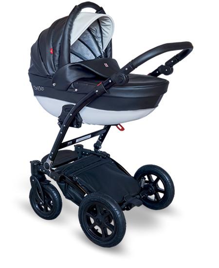 Купить TUTEK Детская коляска Torero 3 в 1 (цвет: черный) [УТ-0001603ECOTOECO12/C], пластик, Металл, Текстиль, Детские коляски