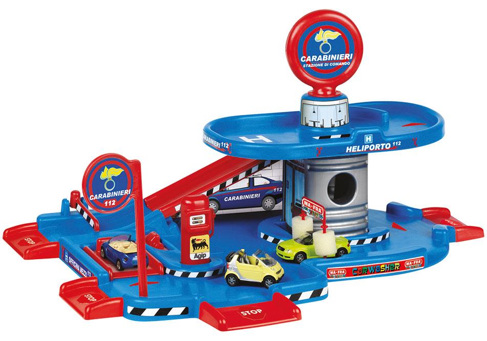 Купить Игровой набор FARO 706 Гараж 2 уровня, пластмасса, Для мальчиков, Италия, Детские парковки и гаражи