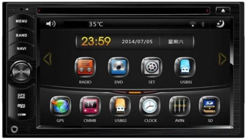 Автомагнитола ACV AVD-6400 фото