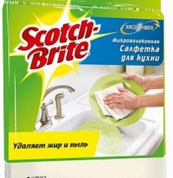 Салфетка 3M Scotch-Brite MW-O (упак.1шт)