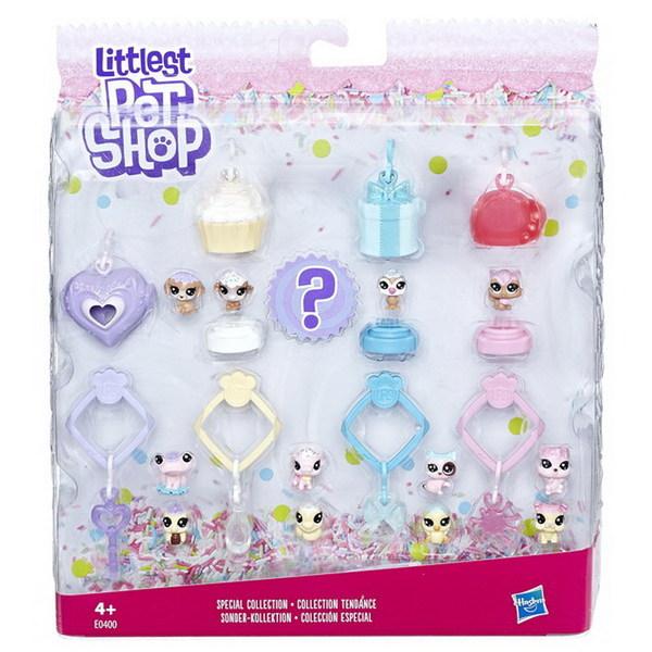 Купить HASBRO Набор игровой Littlest Pet Shop 13 зефирных петов [E0400EU4], пластмасса, Игровые наборы и фигурки для детей