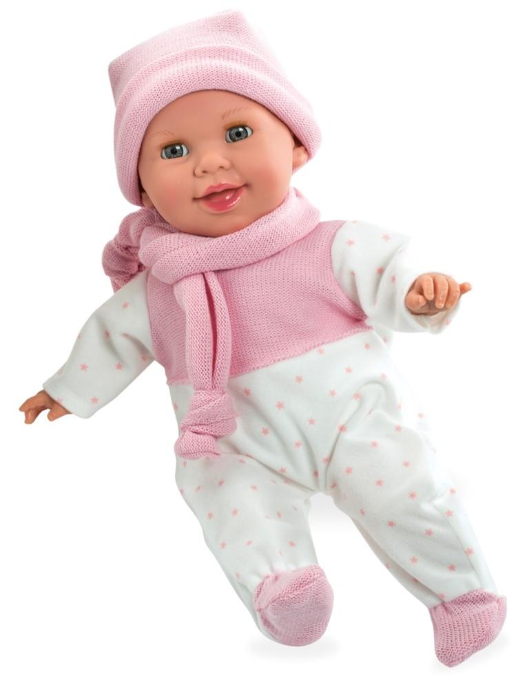 Купить ARIAS Пупс Elegance с соской, 42 см, [Т13735], Текстиль, винил, Куклы и пупсы