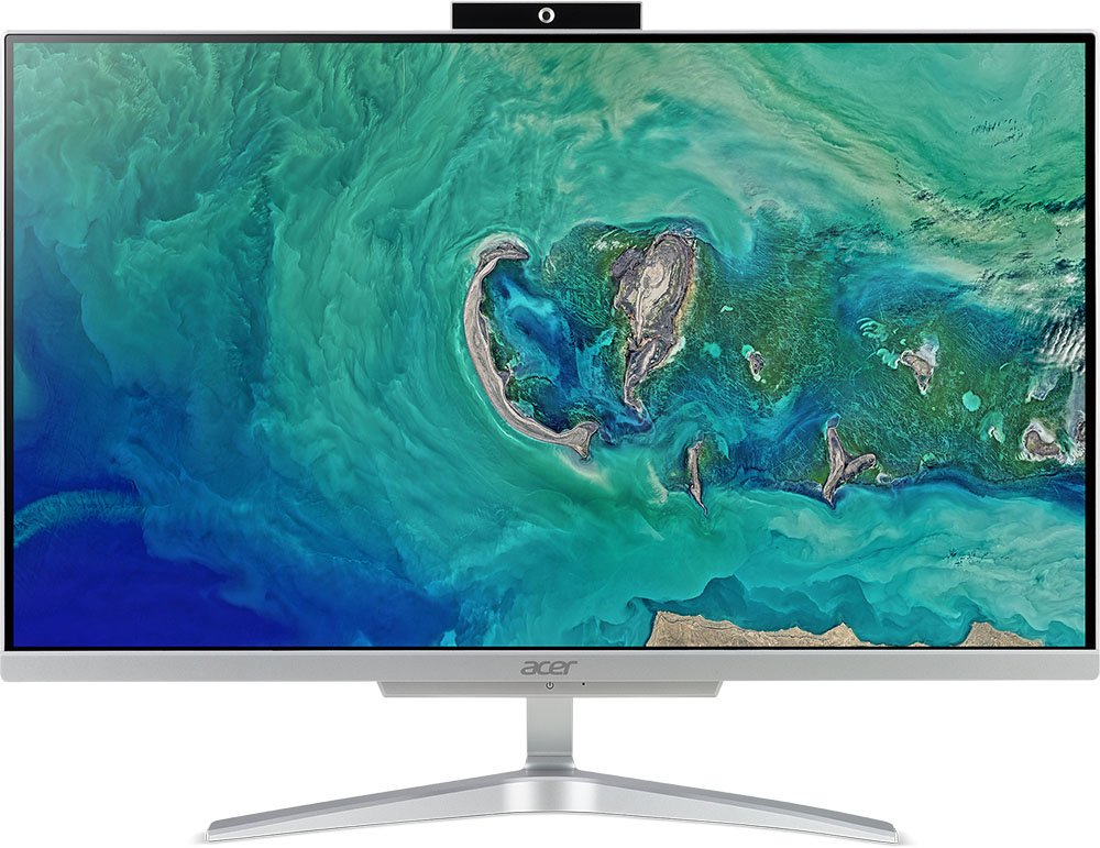 Купить Моноблок Acer Aspire C24-865 (DQ.BBUER.002), Серебристый