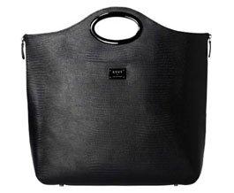 """Сумка для ноутбука женская 12 """" ASUS LEATHER COSMO CARRY BAG Black."""
