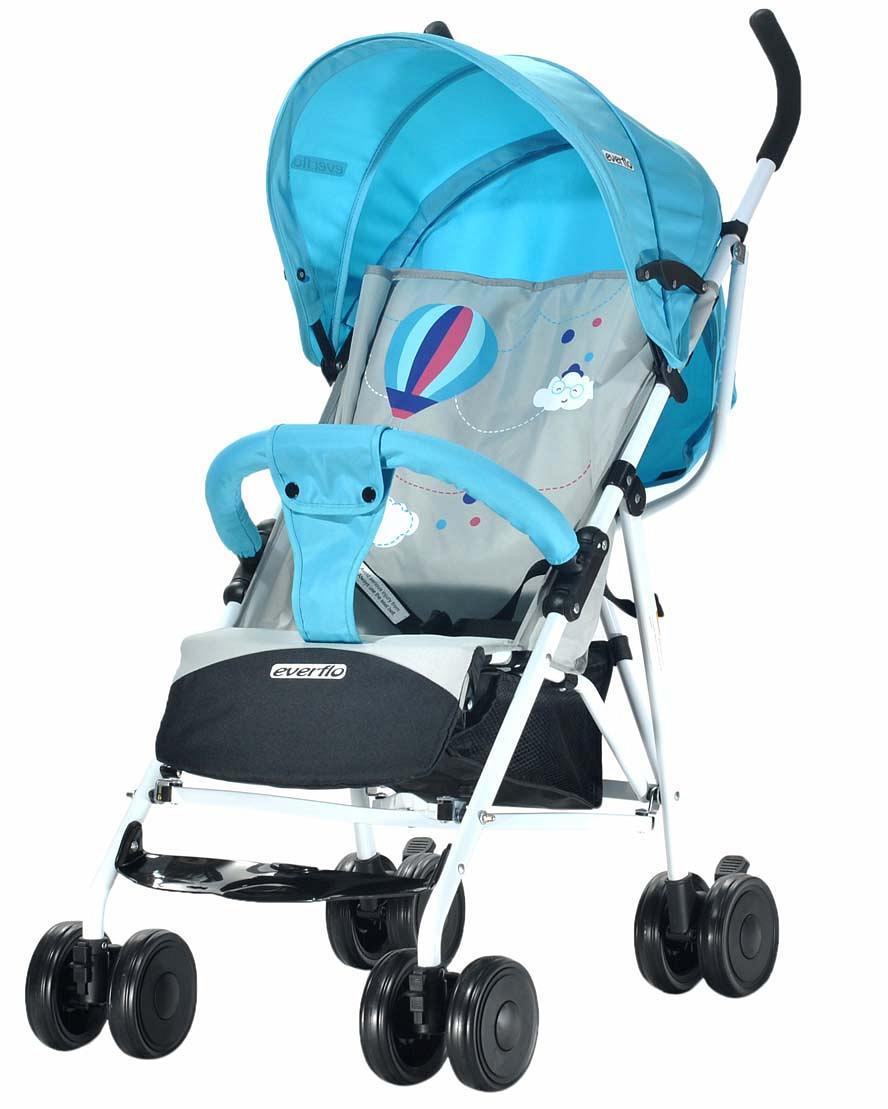 Купить УТ000000300, EVERFLO Коляска трость Ete Blue-grey [Ete Blue-Grey], Детские коляски